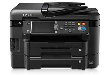 Epson WorkForce WF-3640 Driver Free Windows