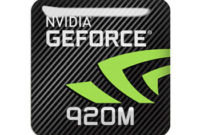 nVidia GeForce 920M Driver Free Mac