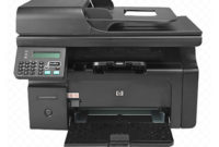 HP LaserJet Pro M1213nf Driver Free Download