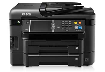 Epson WorkForce WF-3640 Driver Free Windows