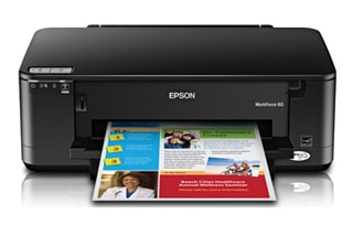 Epson Workforce 60 driver printer